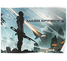 earth's siege, mass effect 3  Poster
