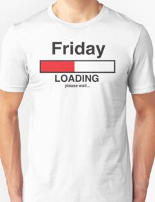 Friday Loading Bar T-Shirt