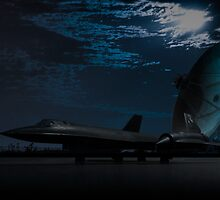 Sr-71 Blackbird by alexminkin
