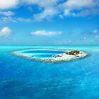 Huvafen Fushi - Maldives atoll island by Bruno Beach