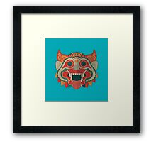 Paper Mask Framed Print