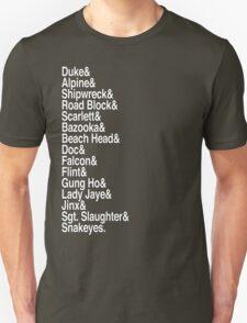 Yo Joes! (White) Unisex T-Shirt
