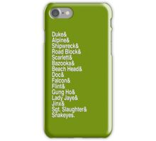 Yo Joes! (White) iPhone Case/Skin