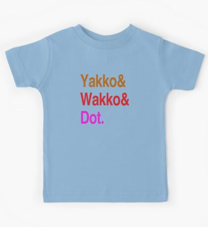 Animaniacs (Yakko, Wakko, Dot) Kids Tee
