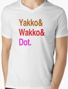 Animaniacs (Yakko, Wakko, Dot) Mens V-Neck T-Shirt