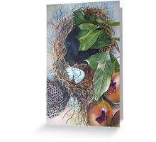 Empty Nests Greeting Card