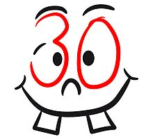 30 face smiley funny comic by Style-O-Mat