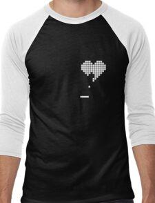 Pong Heart Men's Baseball ¾ T-Shirt