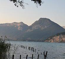 Lake Annecy by Capture the Course Photography by Pikachunicorn
