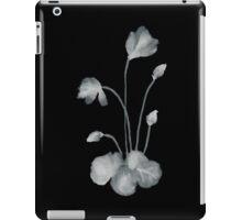 Ink flower negative iPad Case/Skin