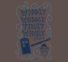 Wibbly Wobbly Timey Wimey Kids Clothes