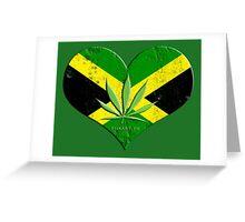 jamaica ganja Greeting Card