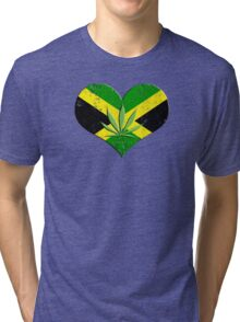 jamaica ganja Tri-blend T-Shirt