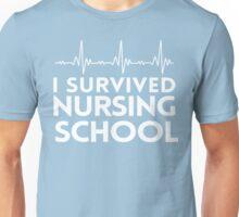 I Survived Nursing School Unisex T-Shirt