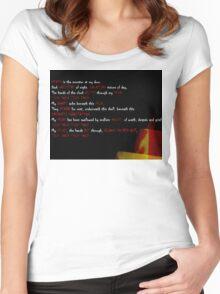 Death & Bones Women's Fitted Scoop T-Shirt