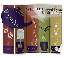 What Tea should you drink today? Poster