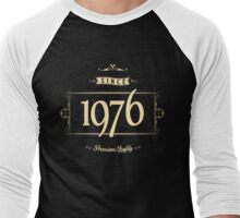 Since 1976 (Cream&Choco) Men's Baseball ¾ T-Shirt