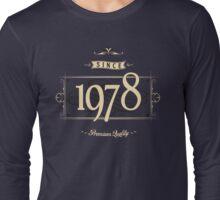 Since 1978 (Cream&Choco) Long Sleeve T-Shirt
