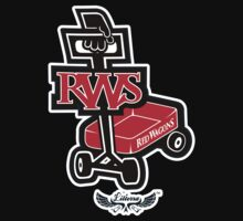 Red WagonS Kids Tee