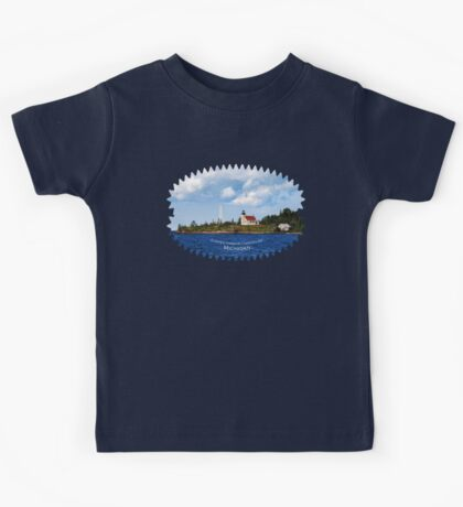 Copper Harbor Lighthouse Kids Tee