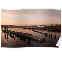 Sunset on the Hudson Poster