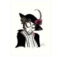 DeLa Maggie Smith Art Print