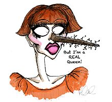 I'm a Real Queen! Photographic Print