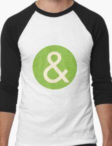 Ampersand Men's Baseball ¾ T-Shirt