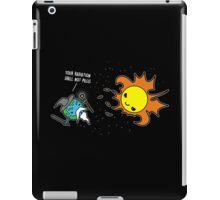 A heated encounter iPad Case/Skin