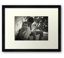 Sri Lanka Temple Framed Print