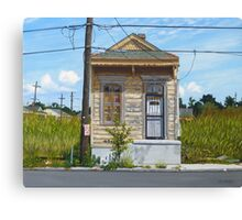 Shotgun House Canvas Print