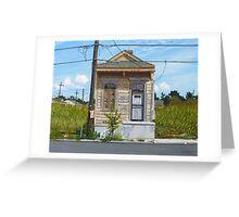 Shotgun House Greeting Card