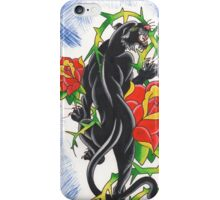 Old School Panther iPhone Case/Skin