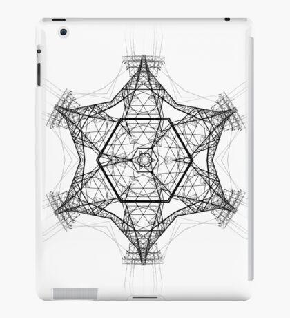 Electro mandala iPad Case/Skin