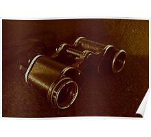 WWII Binoculars  Poster