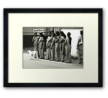 Sri Lanca People Framed Print