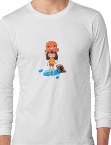 Girl vs Octopus Long Sleeve T-Shirt
