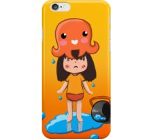 Girl vs Octopus iPhone Case/Skin
