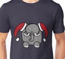 Santa Elephant Unisex T-Shirt