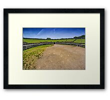 The Amphitheatre of Pompeii Framed Print