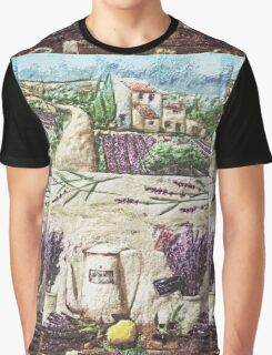 """Exclusive: """" The Extraordinary eternal Provence Lavender """" / My Creations Artistic Sculpture Relief fact Main 33  (c)(h) by Olao-Olavia / Okaio Créations Graphic T-Shirt"""