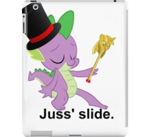 Juss' slide. iPad Case/Skin