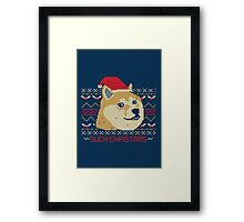 Such Christmas! Framed Print