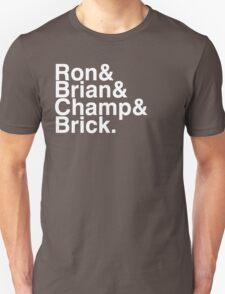 Anchorman - Channel 4 News Team White Version T-Shirt