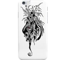 The face in the stars iPhone Case/Skin