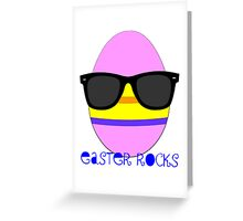 Easter rocks Greeting Card