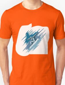 Jumping snowboarder Unisex T-Shirt