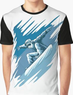 Jumping snowboarder Graphic T-Shirt