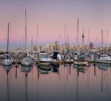 Westhaven Marina, Auckland by Peter Mitchell