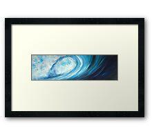 Blue Crescendo II Framed Print